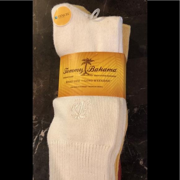 f51b4db098bb Tommy Bahama Underwear & Socks | Nwt 3 Pair Initial Palm Crew Socks ...